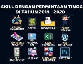 12 Skill Dengan Permintaan Tinggi Di Tahun 2019 – 2020